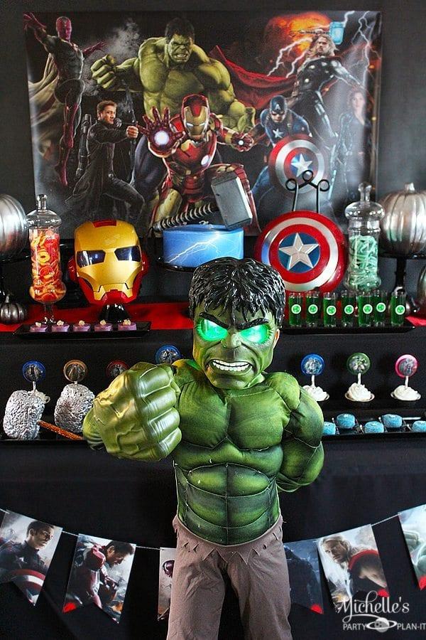 Avengers Halloween Costume Party
