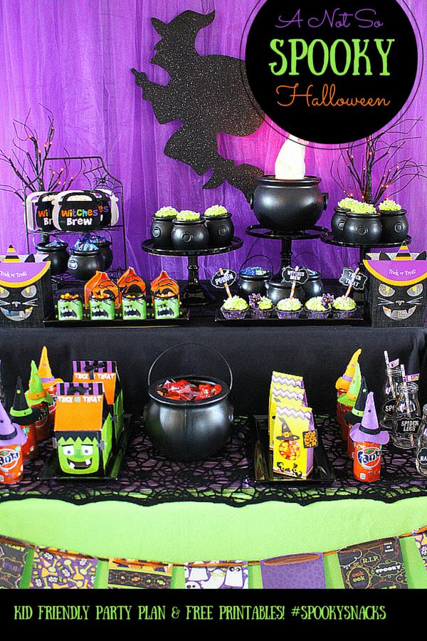 EASY Not So Spooky Halloween Party Ideas with Fanta and OREO