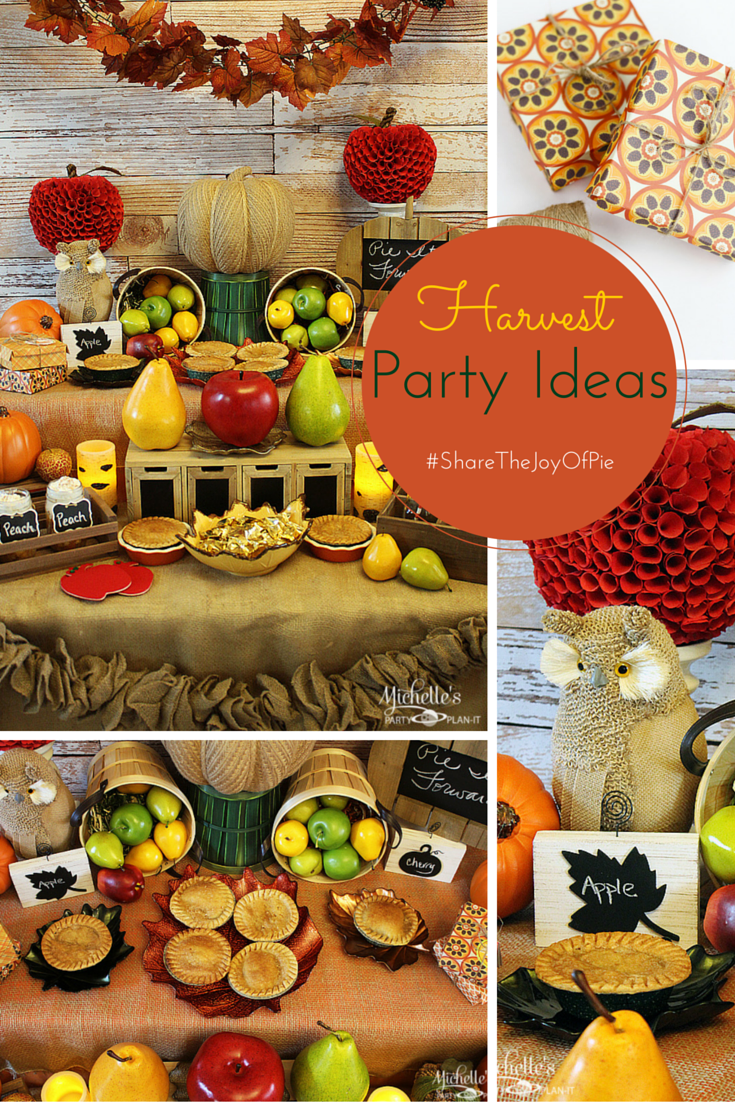 Share The Joy Of Pie With Marie Callender S Harvest Party