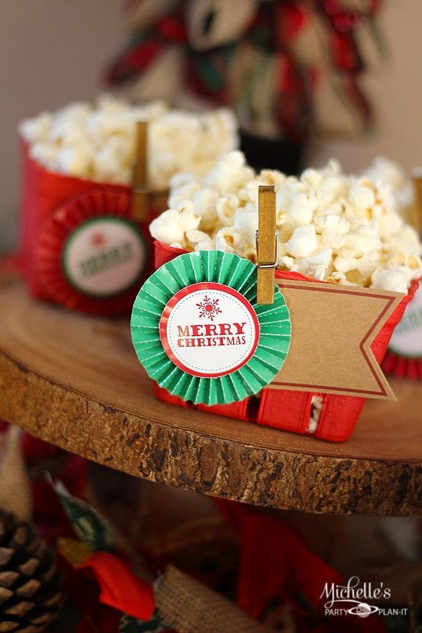 Rustic Christmas Party Ideas
