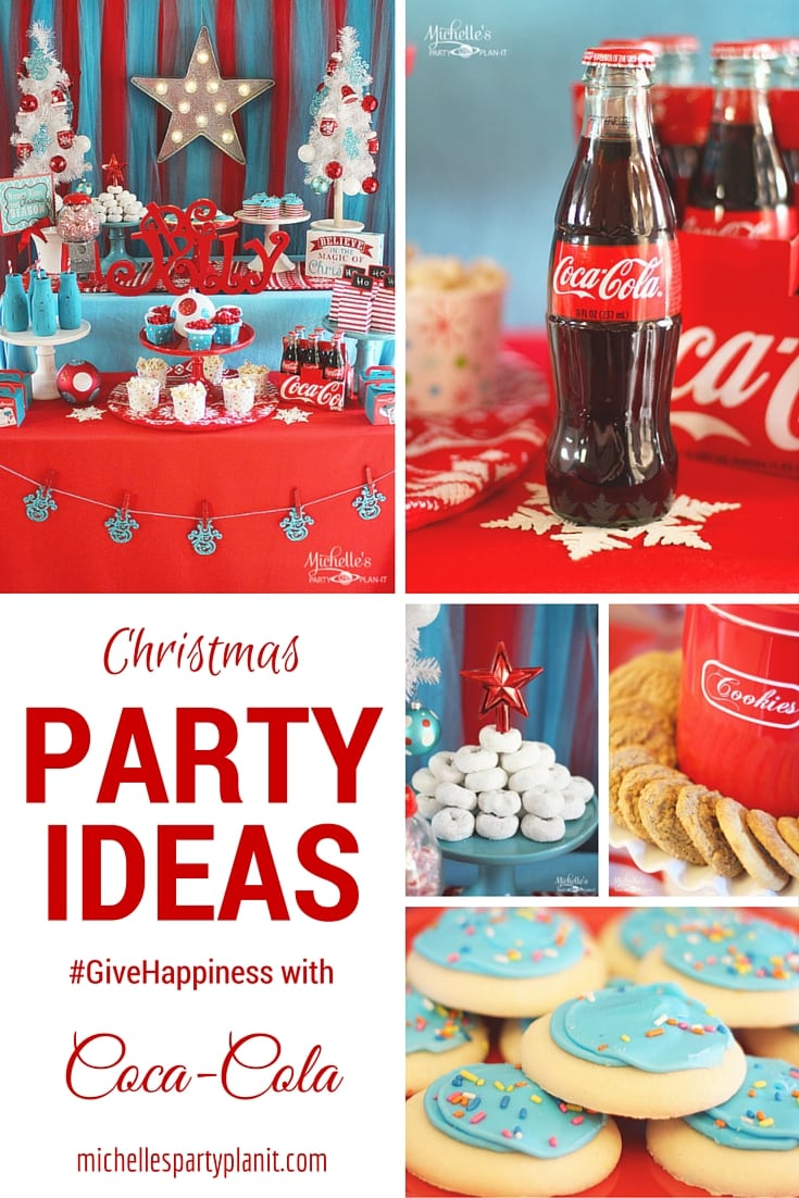 Give Happiness With Coca Cola Christmas Party Ideas