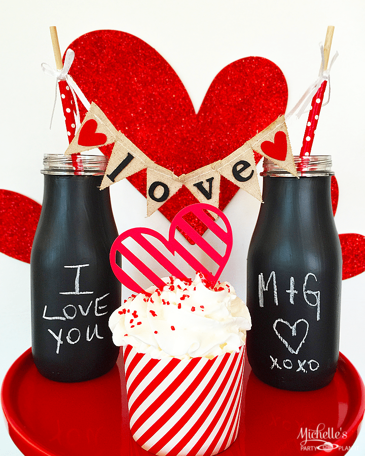 Love Note Chalkboard Glasses