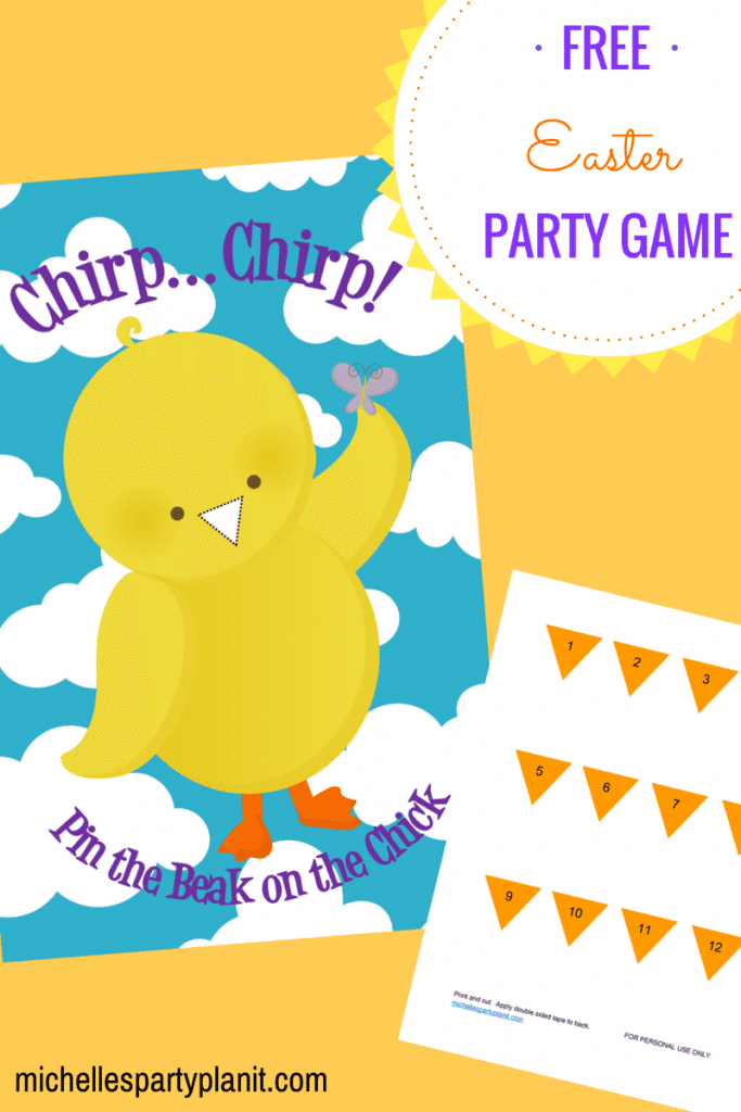 Easter Party Game - FREE Printable