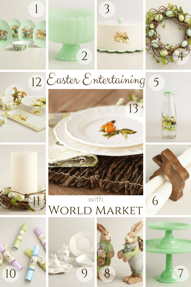 Easter Entertaining with World Market