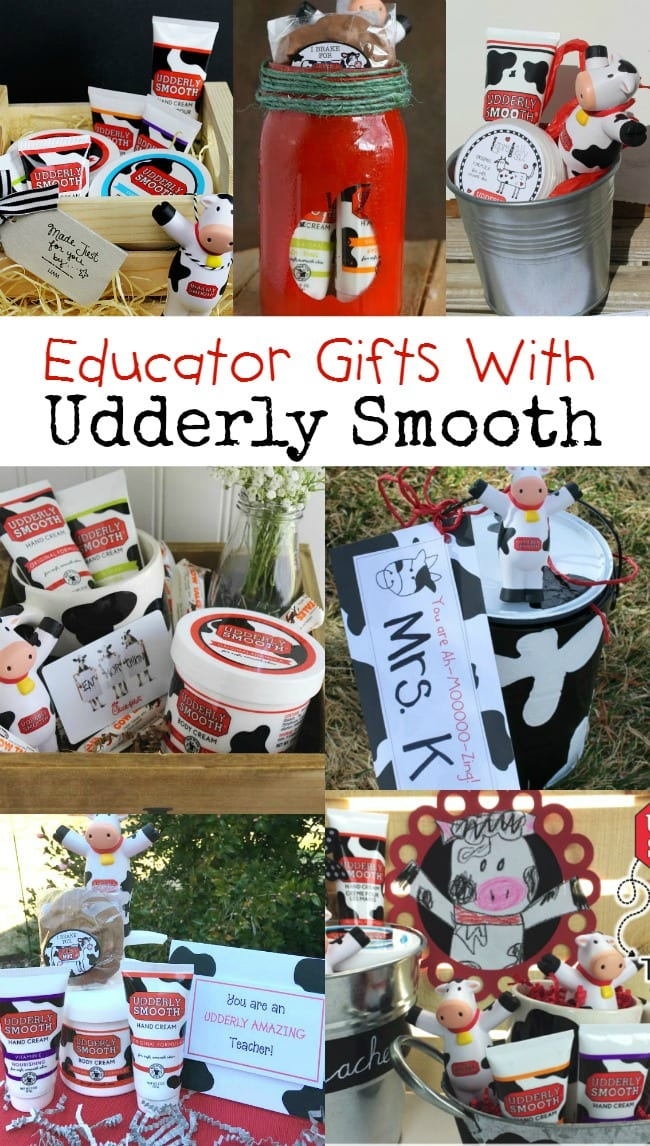 Awesome Educator Gifts with Udderly Smooth | Plus a Giveaway!