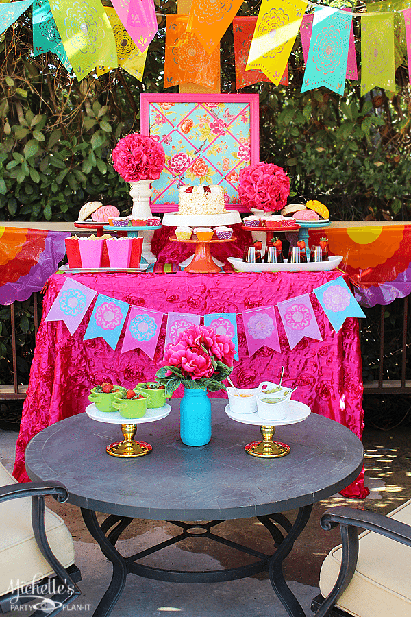 to plan a radiant and bright garden fiesta michelle 39 s party plan it