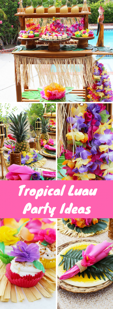 Tropical Luau Party Ideas