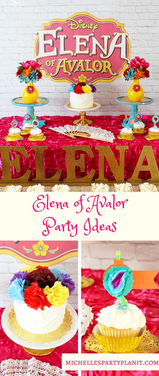 Elena of Avalor Party Ideas