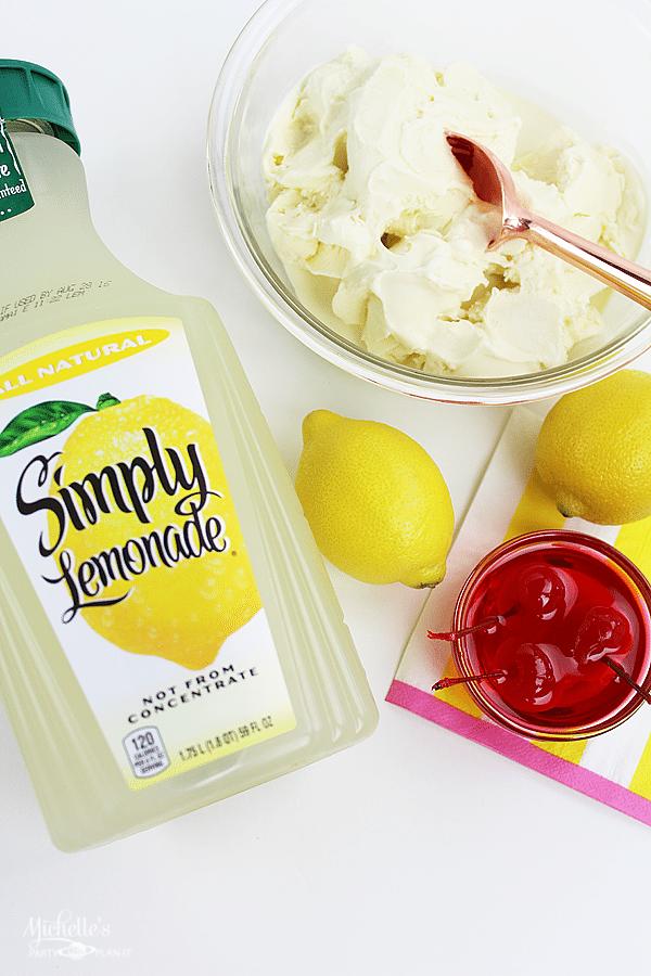 Refreshing Frozen Cherry Lemonade