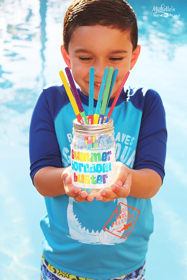 Summer Boredom Buster Ideas - Fun Summer Activity Ideas