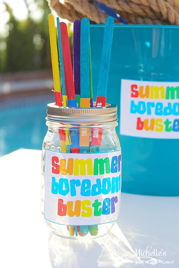Summer Boredom Buster