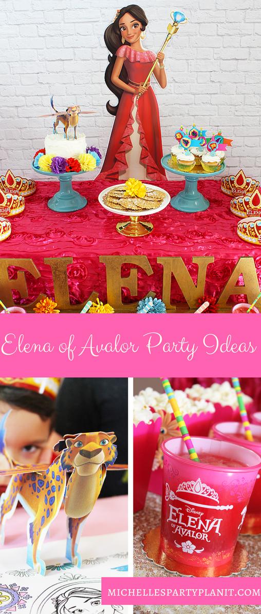 Elena of Avalor Party