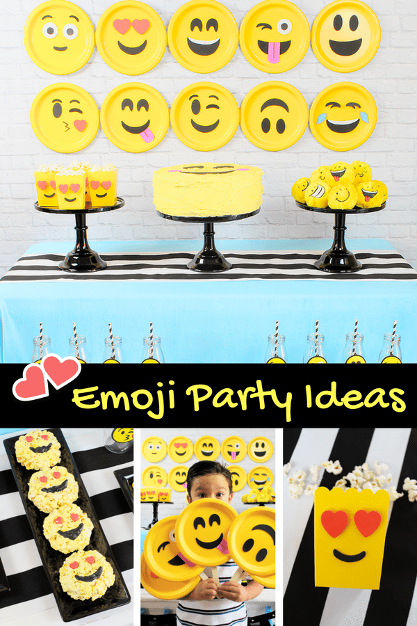 Emoji Party Ideas Michelles Plan It