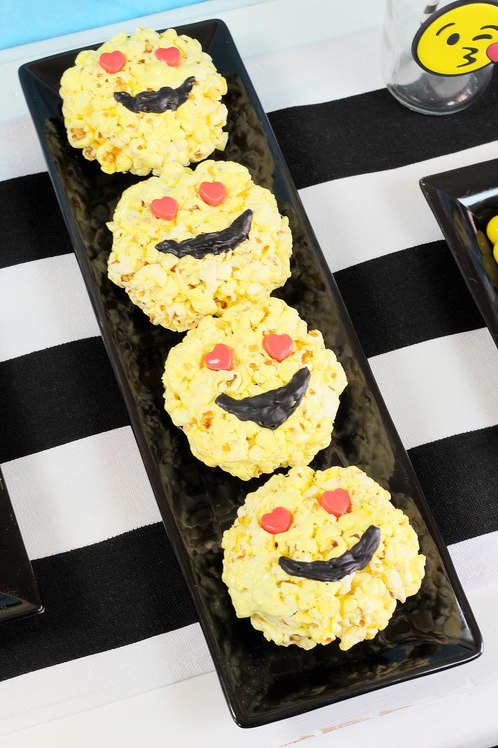 Emoji Popcorn Balls