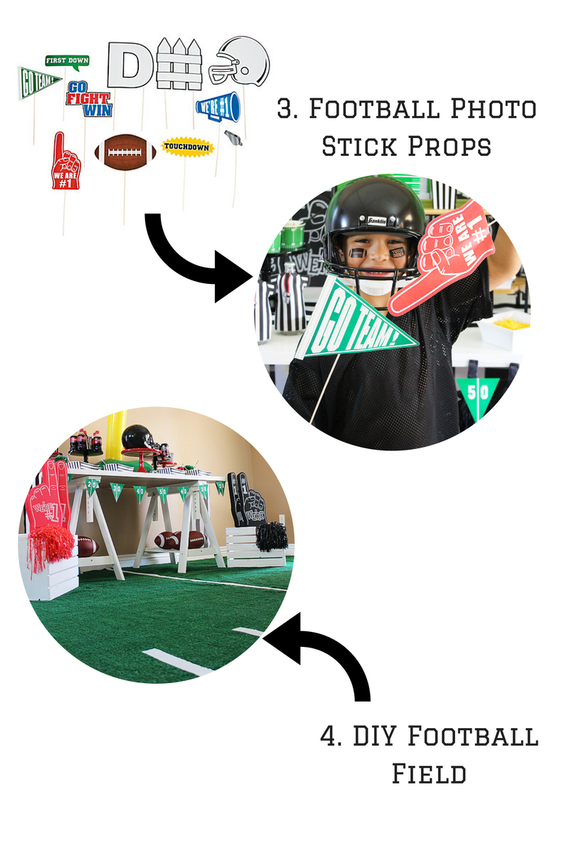 5 Football Party Must Haves