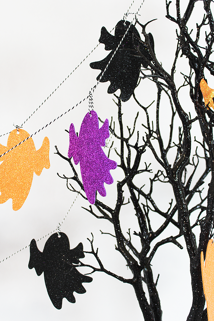 Boo Bash Halloween Party Ghost Garland