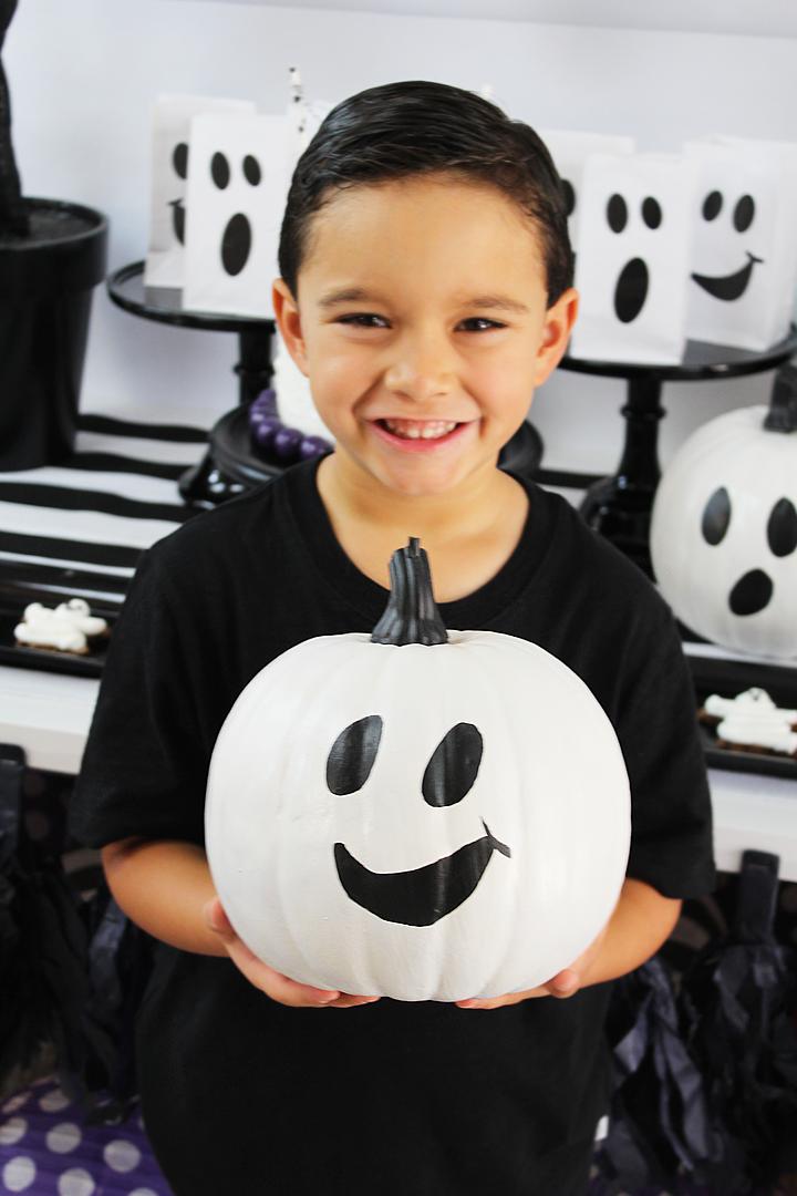 Boo Bash Halloween Party Ghost Pumpkins