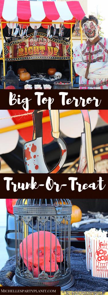 Big Top Terror Trunk or Treat
