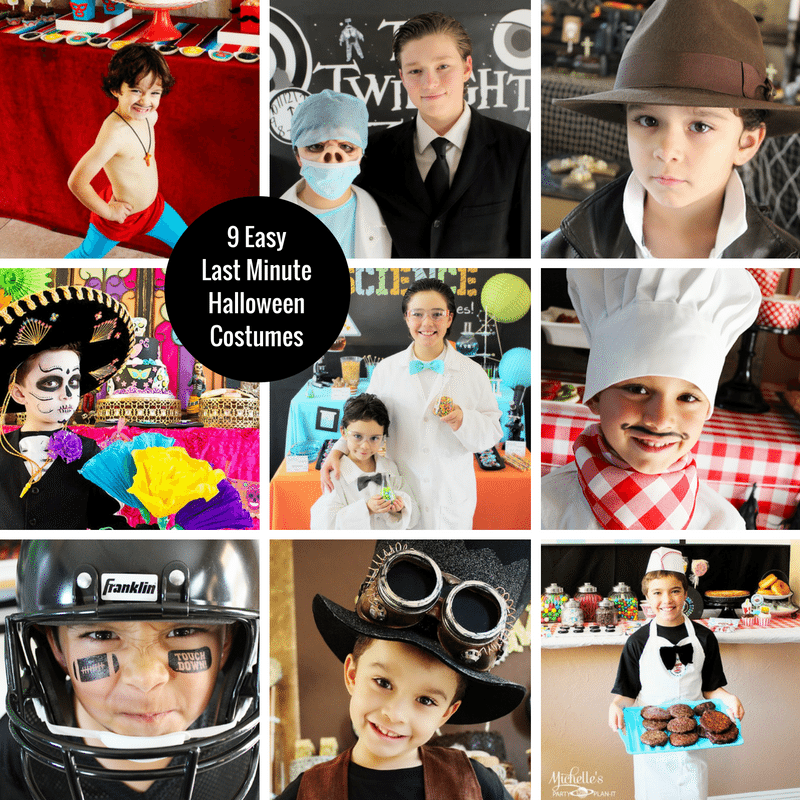 Easy Last Minute Halloween Costumes For Kids