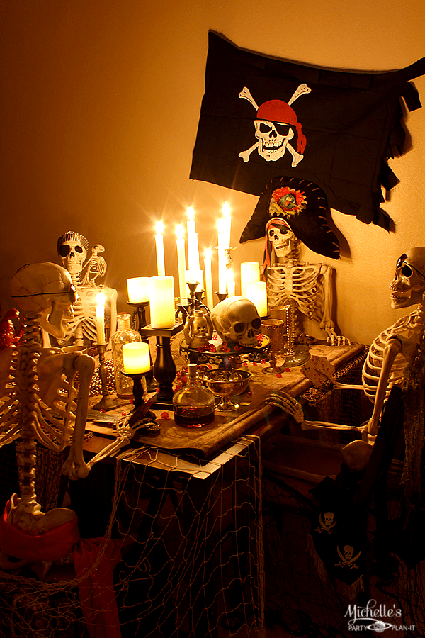 Brunch Ideas For Easter: Spooky Pirate Party Decorations