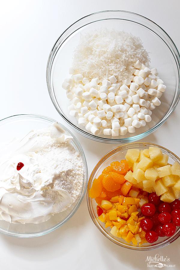 Orange Coconut Cream Ambrosia Recipe