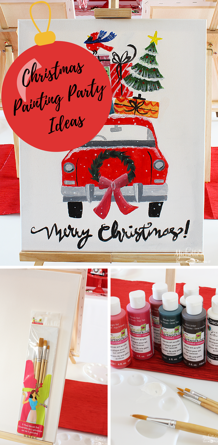 Christmas Painting Party Ideas