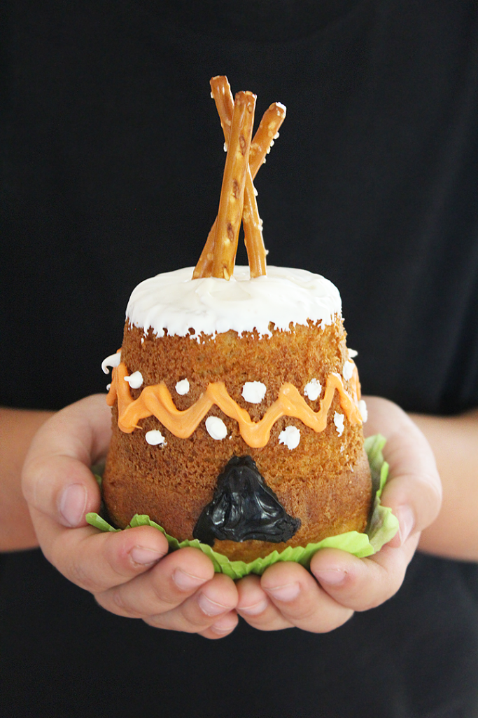 Teepee Cupcakes
