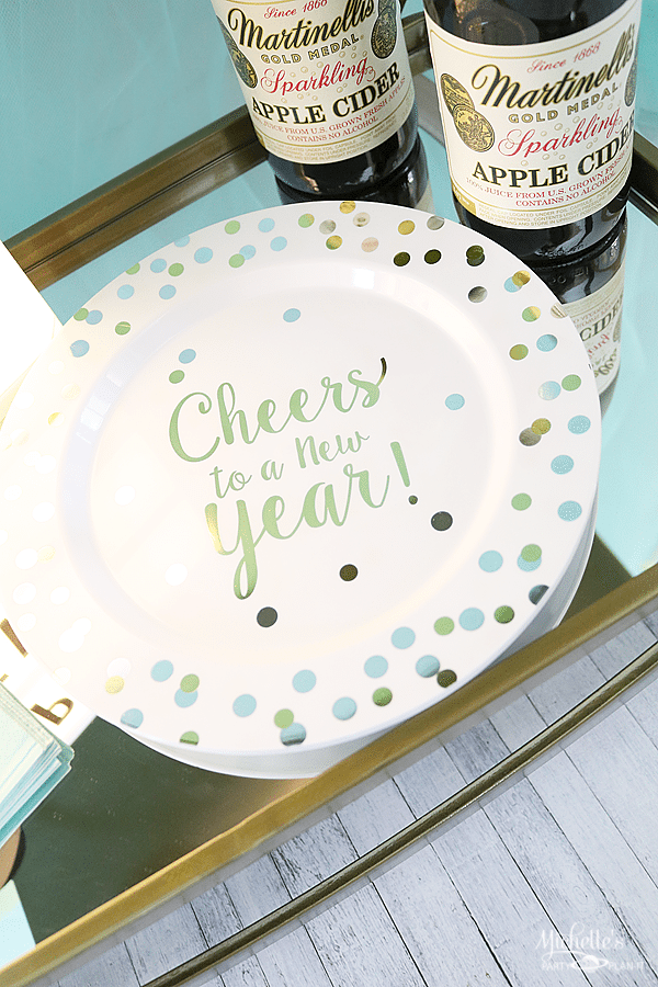 NYE Party Plates