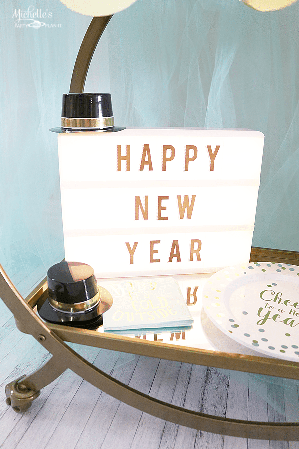New year's Eve Marquee Sign