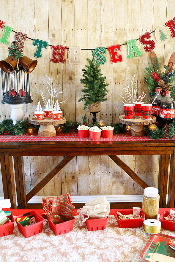 Layer On Love with a Cozy Christmas Party