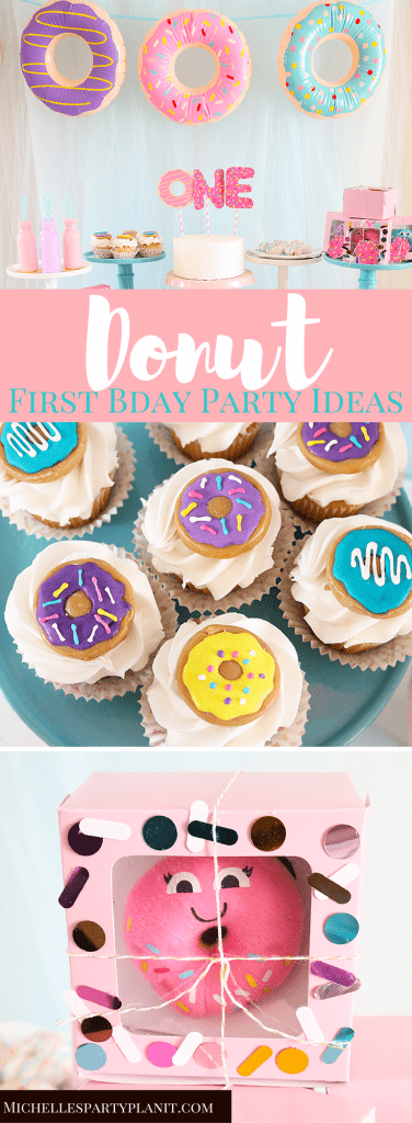 Donut First Birthday Party Ideas