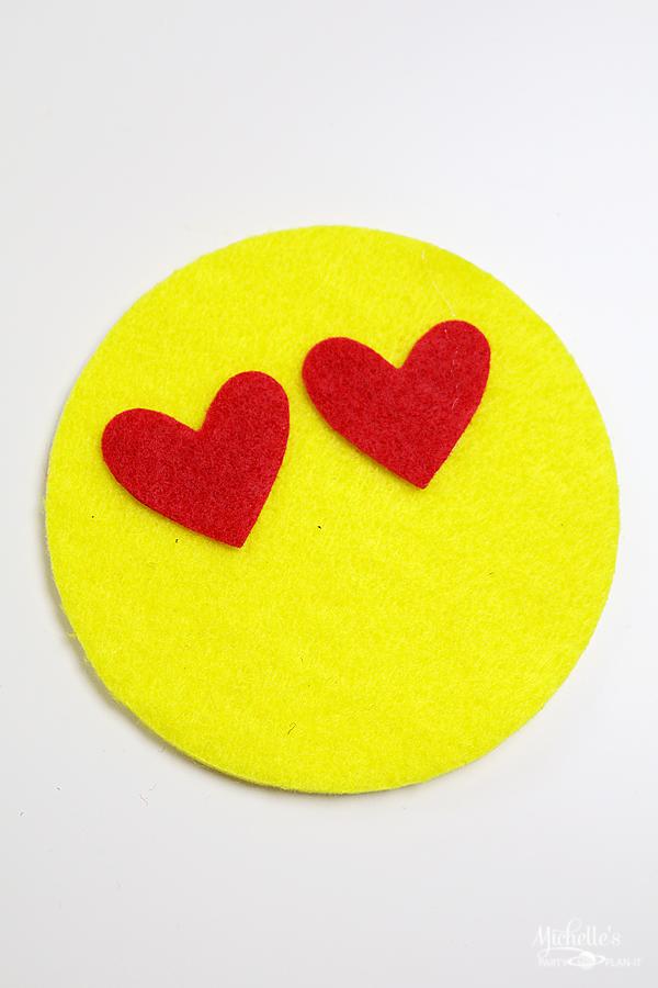 Felt Emoji Coasters