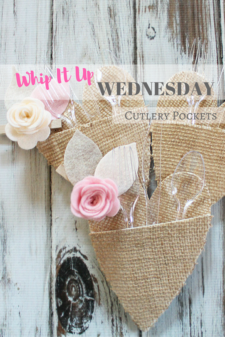 Heart Cutlery Pockets – Whip It Up Wednesday
