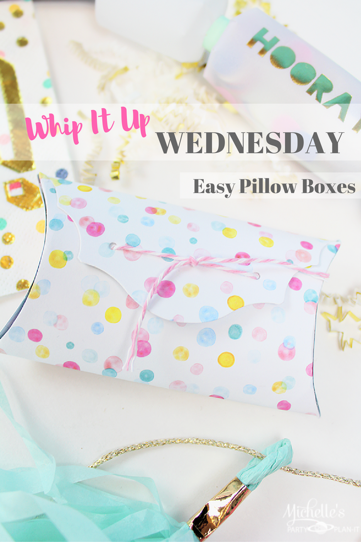 Easy and Fun Party Favor Boxes – Whip it Up Wednesday