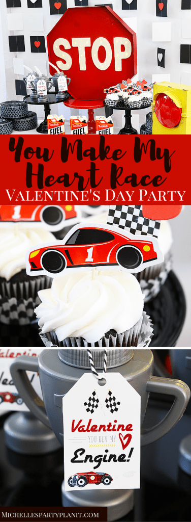 You Make My Heart Race, Valentine - Valentine's Day Party