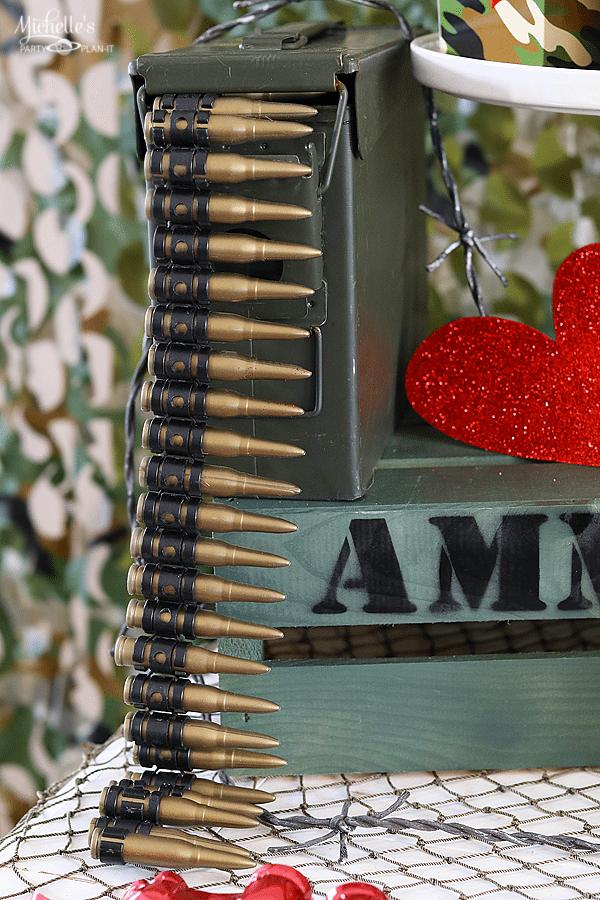 Love is a Battlefield Ammo Box
