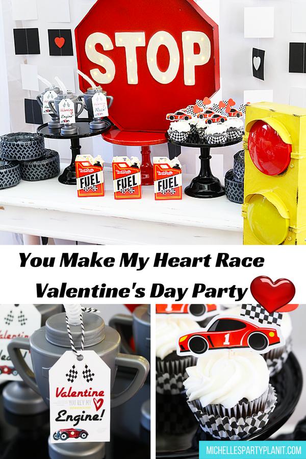 You Make My Heart Race Valentine