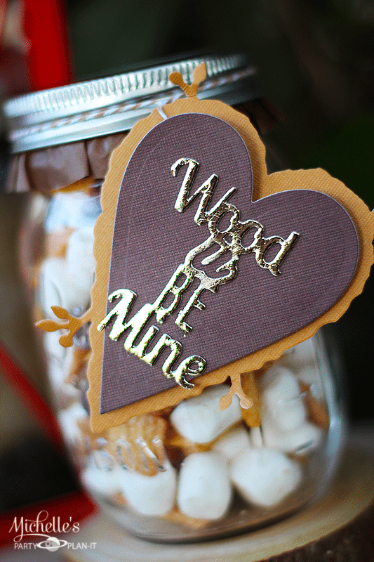 Wood U Be Mine Valentine Gift Idea