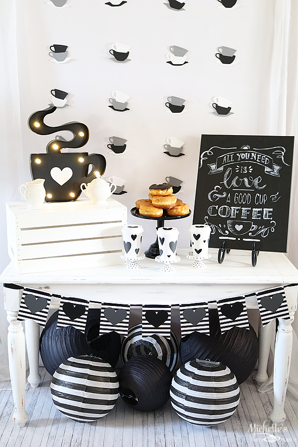 All You Need is Love and Coffee Party Tale