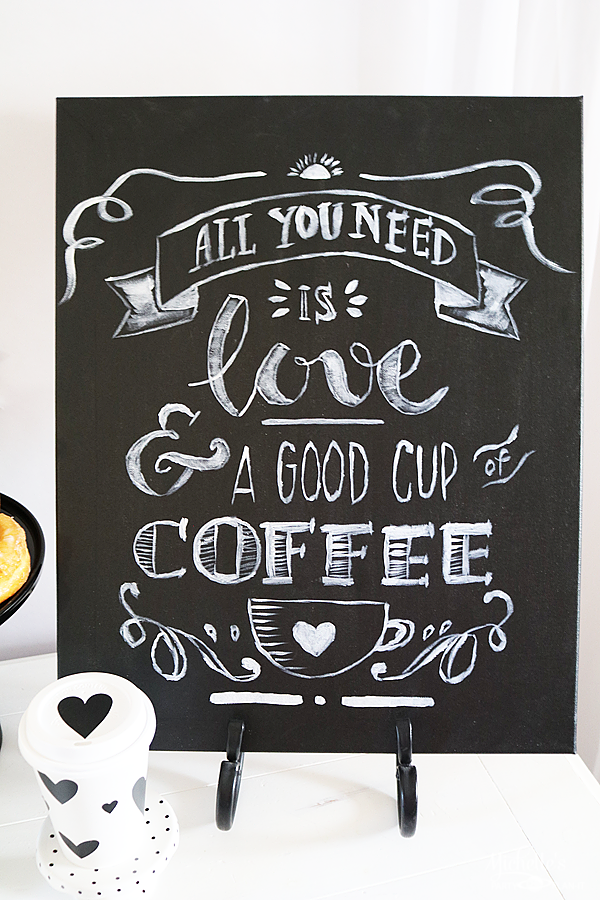All You Need is Love and Coffee Painting Party