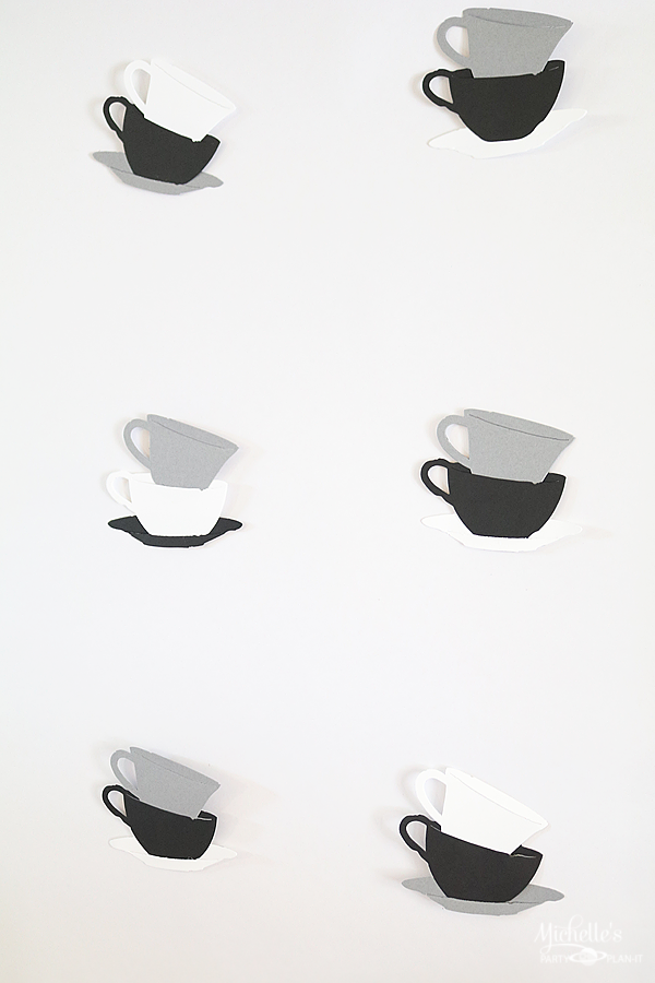 All You Need is Love and Coffee Party Backdrop