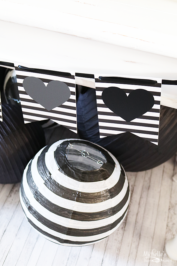 All You Need is Love and Coffee Party Decorations