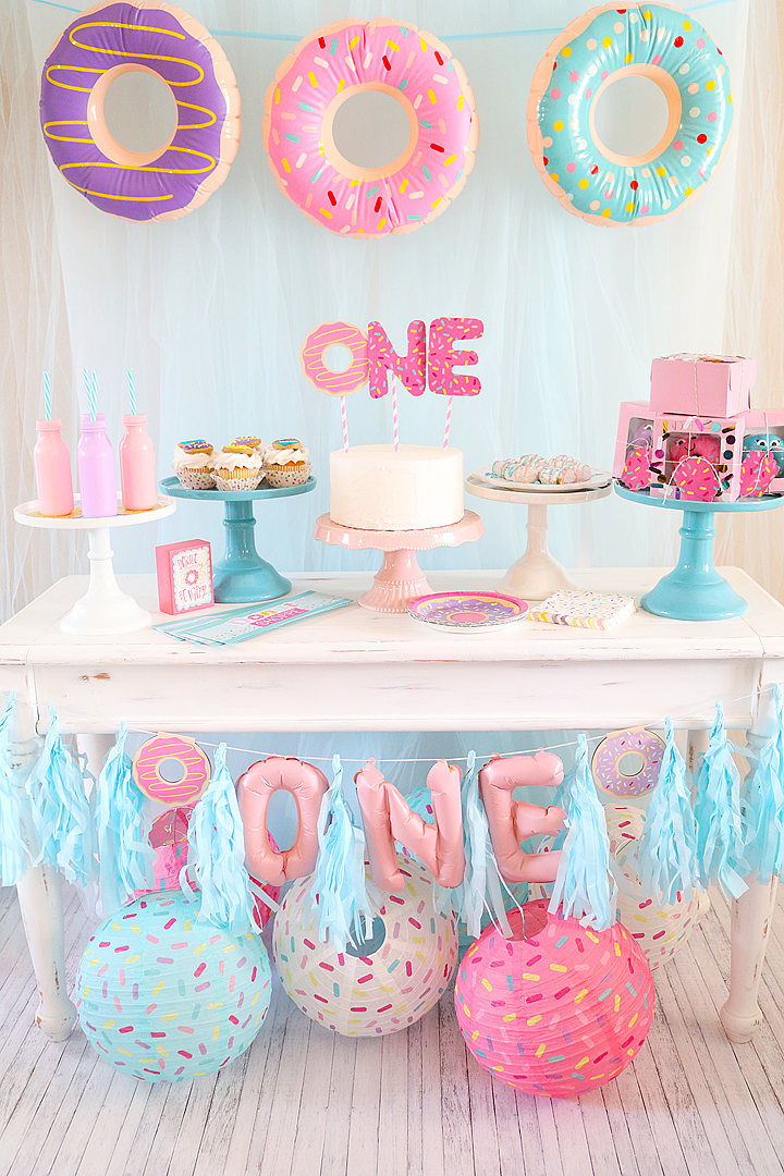 Donut First Birthday Party