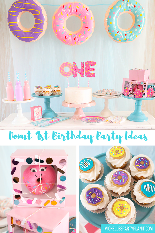 Donut 1st Birthday Party – Donut Party Ideas