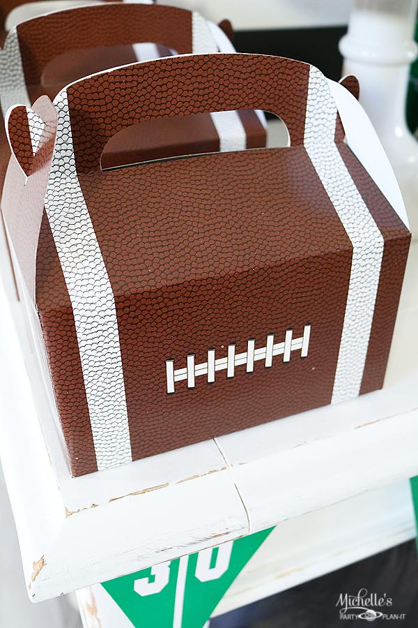 Football snack table 5
