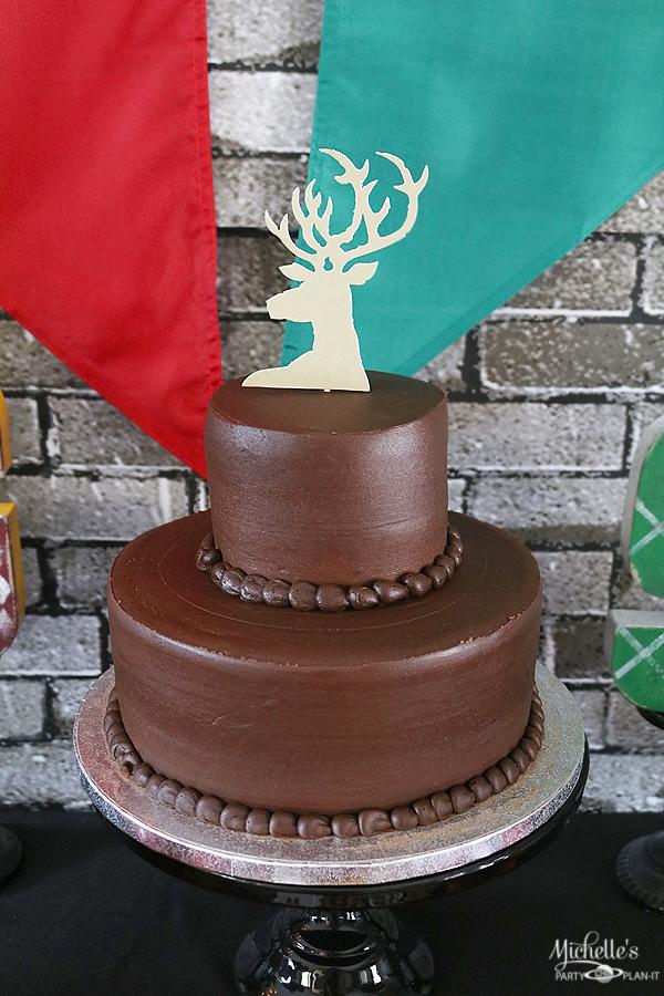 Harry Potter Patronus Cake