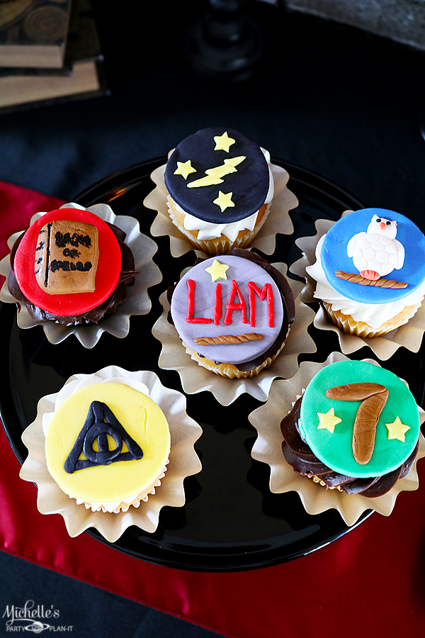 Harry Potter Fondant Cupcake Toppers