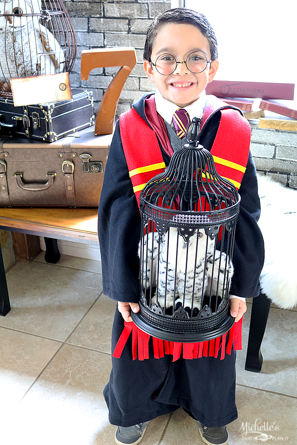 Next Stop, Hogwarts! – A Harry Potter Birthday Party