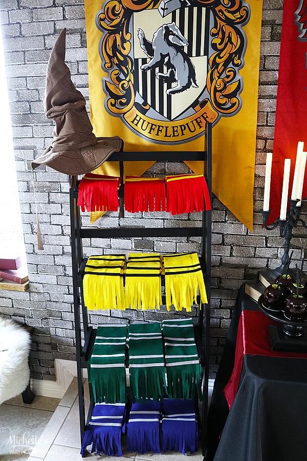 Handmade Harry Potter House Scarves
