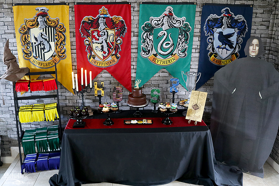 Harry Potter Part Tablescape
